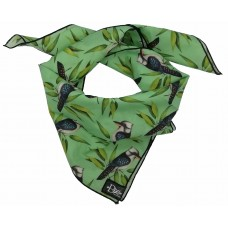 Kookaburra Mint Green Bandana