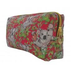 Koala Red Toiletry Bag