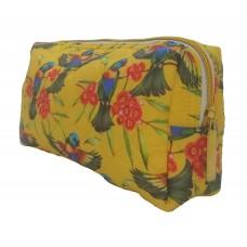 Lorikeet Yellow Toiletry Bag