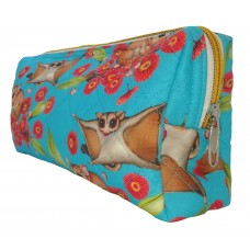 Sugar Glider Turquoise Toiletry Bag