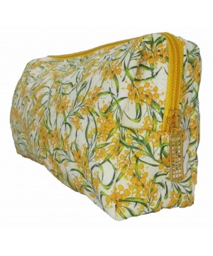 Wattle White Toiletry Bag