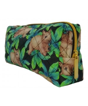 Wombat Black Toiletry Bag