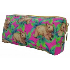 Wombat Pink Toiletry Bag