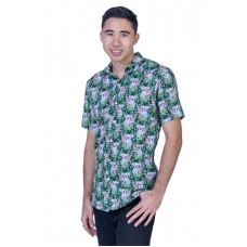Koala Black Shirt - Ozzie Men's Short Sleeve Shirt