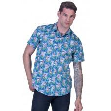 Koala Blue Shirt - Ozzie Men's Short Sleeve Shirt