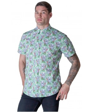 Koala White Shirt - Ozzie Men's Short Sleeve Shirt