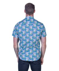 Koala Blue Shirt - Ozzie Men's Short Sleeve Shirt