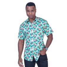 Wombat White Shirt - Ozzie Men's Short Sleeve Shirt