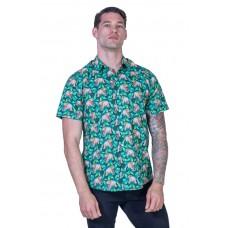 Wombat Green Shirt - Ozzie Men's Short Sleeve Shirt