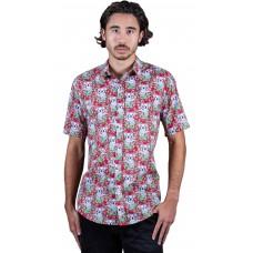 Koala Red Shirt - Ozzie Men's Short Sleeve Shirt