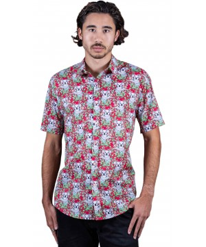 Koala Red Shirt - Ozzie Men's Short Sleeve Shirt