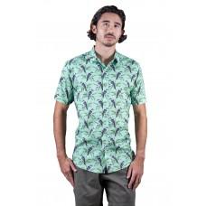 Kookaburra Mint Green Shirt - Ozzie Men's Short Sleeve Shirt