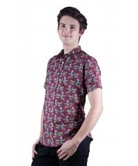 Kookaburra Mulberry Shirt - Ozzie Men's Short Sleeve Shirt