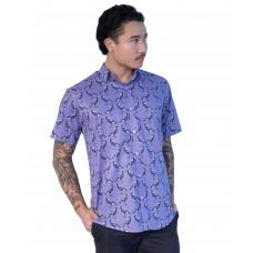 Magpie Amethyst- Ozzie Men's Short Sleeve Shirt