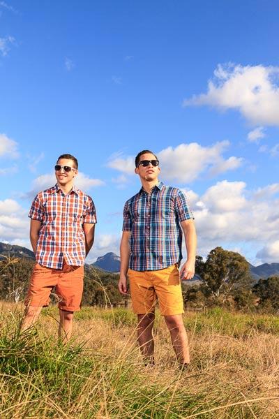 Samet Sunset & Martinique Shirt